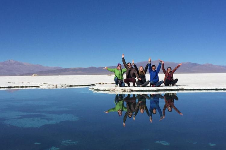 Study Abroad Students in Argentina