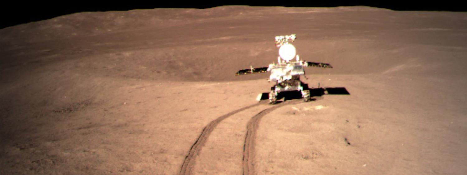 Chinese Photograph of a Lunar Rover