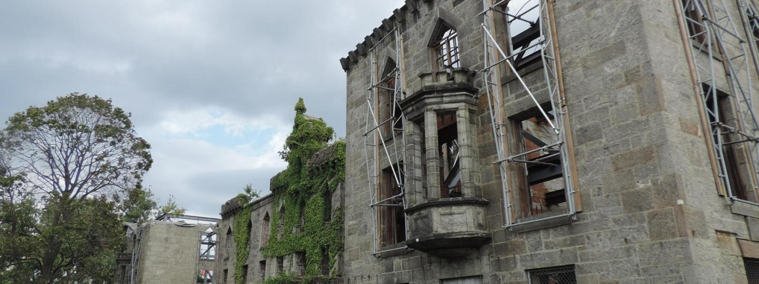 Photograph of the Renwick Smallpox Hospital