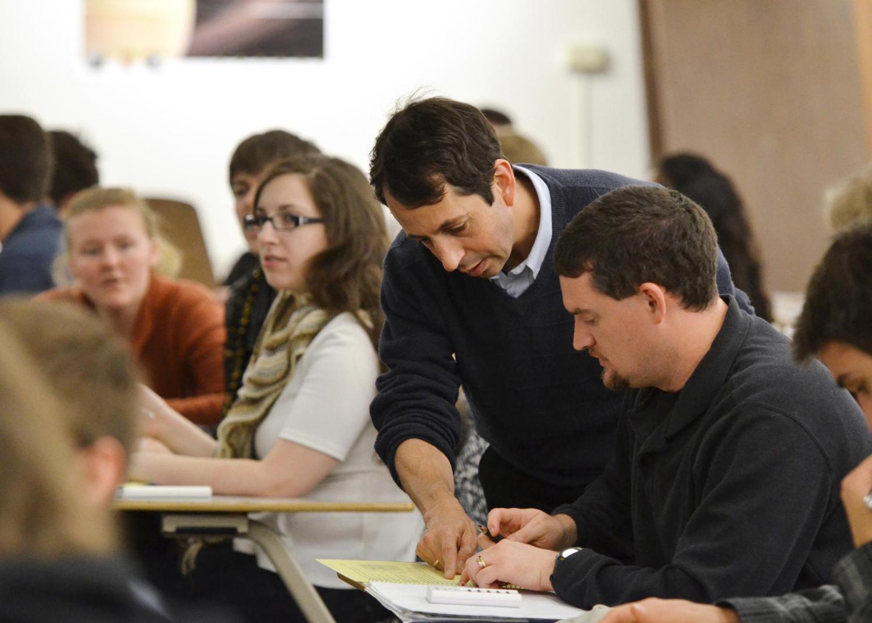 Steven Pollock teaching