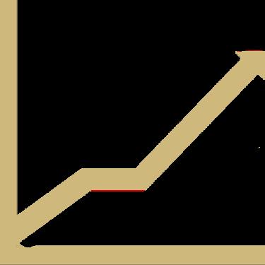 chart increase vector