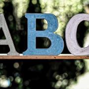 ABC Written With Chalk