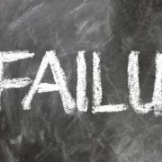 failure written in chalk