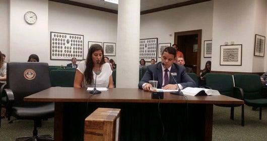 Students get real-world experience analyzing legislative bills