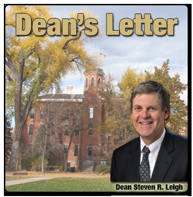 Dean's Letter