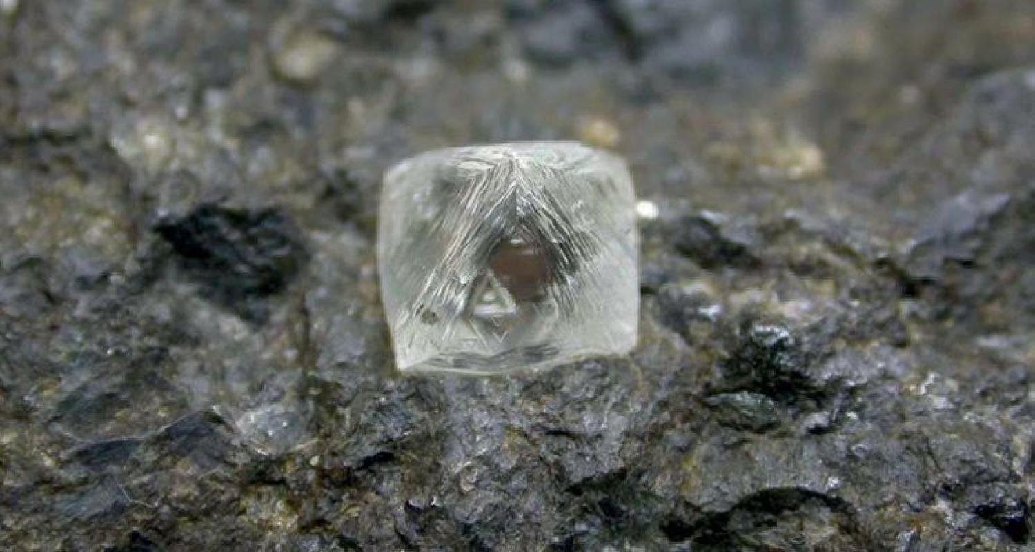 Diamond Crystal. Image by Pat Daly