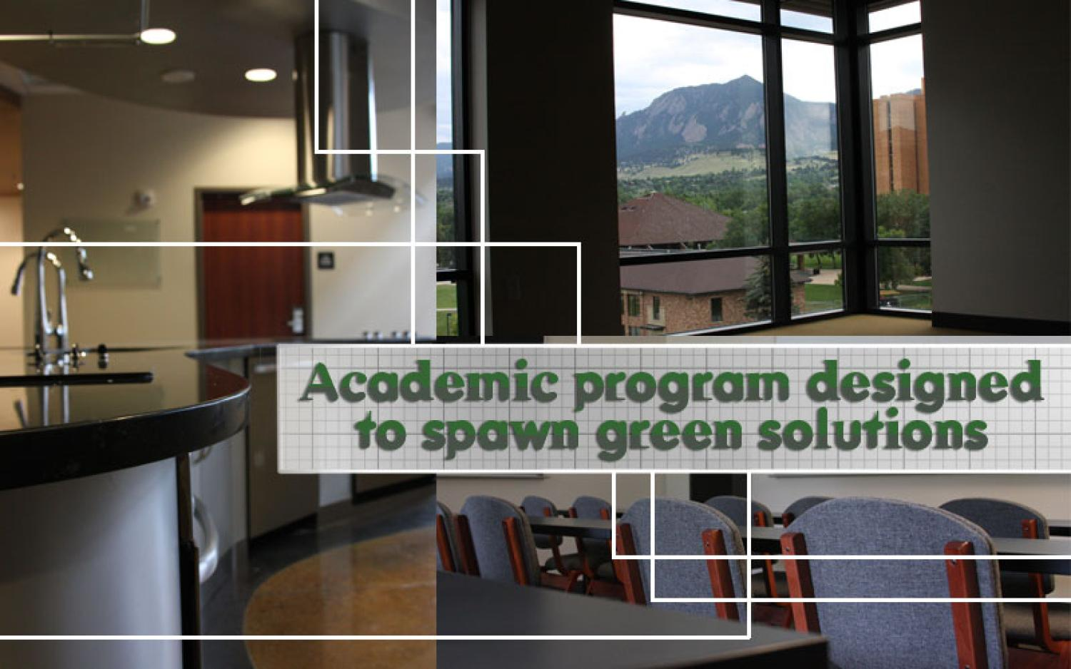 academic program spawns green solutions colorado arts and sciences