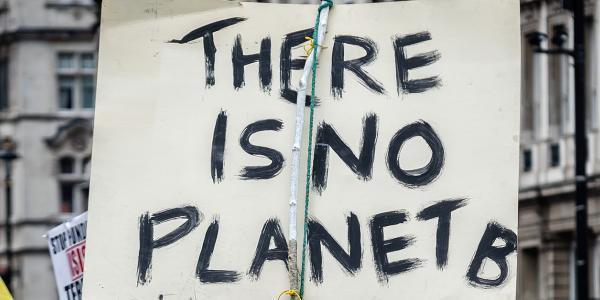Climate Change Protest Photograph