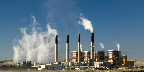 Coal-fired electric plant