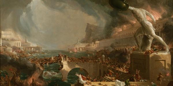 Destruction by Thomas Cole
