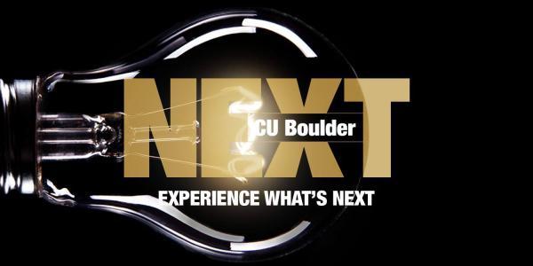 CU Boulder NEXT Header