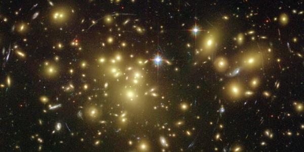 Dark matter can be inferred from an assortment of physical clues in the universe. NASA