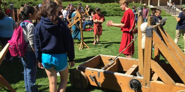 Photograph from CU Classics Day