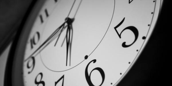 Stock Photo of a Clock