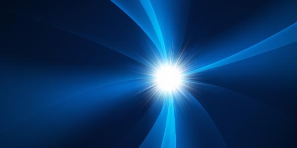 Stock image of a photon