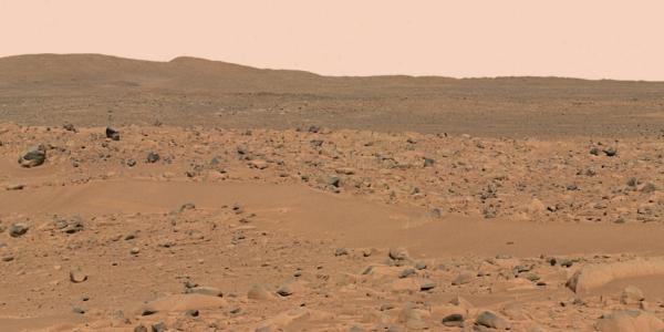 Photograph of the Martian Landscape