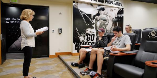 CU launches exhaustive study of student-athletes' health