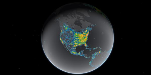 Light pollution now blots out the Milky Way