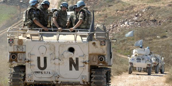 U.N. tank