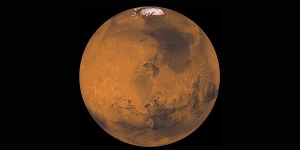 Photograph of Mars