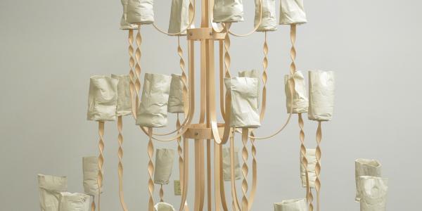 Sculpture by Carissa Samaniego
