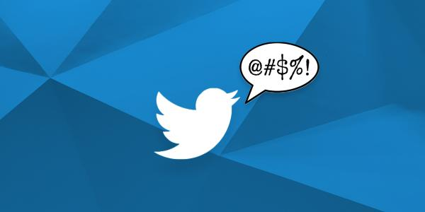 An angry twitter bird