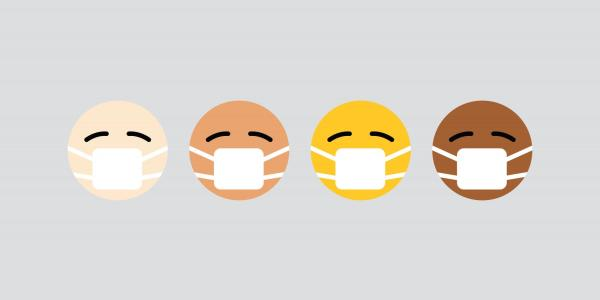 Emojis with facemarks on