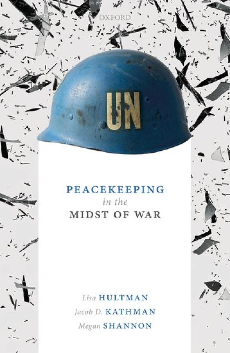 Peacekeeping in the midst of war book cover