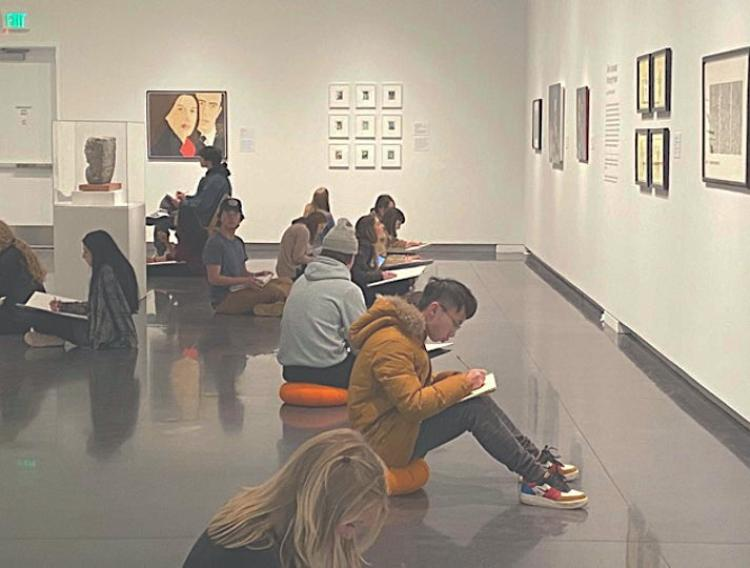 Picturing People(Installation view), CU Art Museum, July 18, 2019– March 12, 2020. Photo by Patrick Campbell, © University of Colorado Boulder.