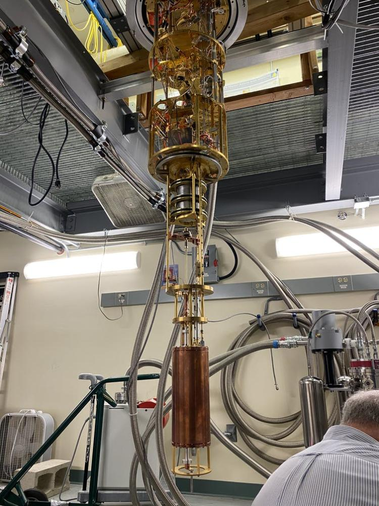 The HAYSTAC detector is searching for the axion, one of the hypothetical particles that could make up dark matter. Kelly Backes, CC BY-ND