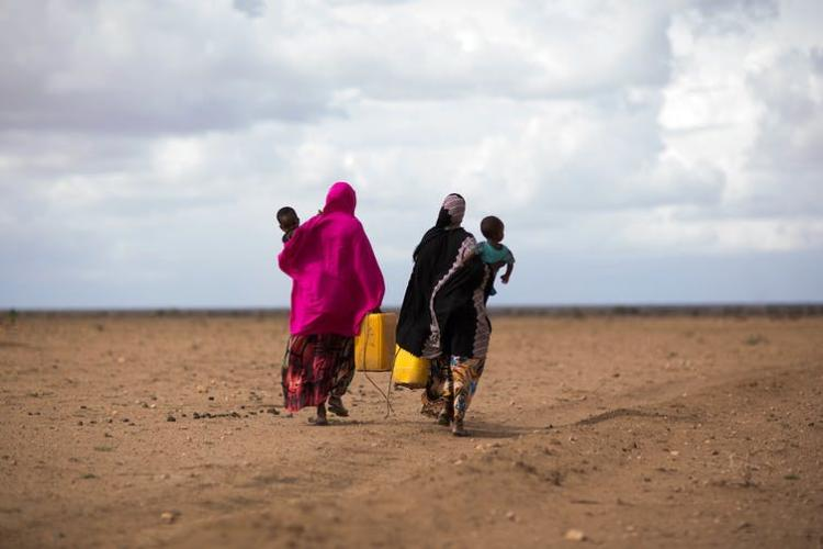 Drought displaced hundreds of thousands of people in Ethiopia in 2016. The vast majority stayed within the country's borders. UNICEF Ethiopia/2016/Tesfaye, CC BY-NC-ND