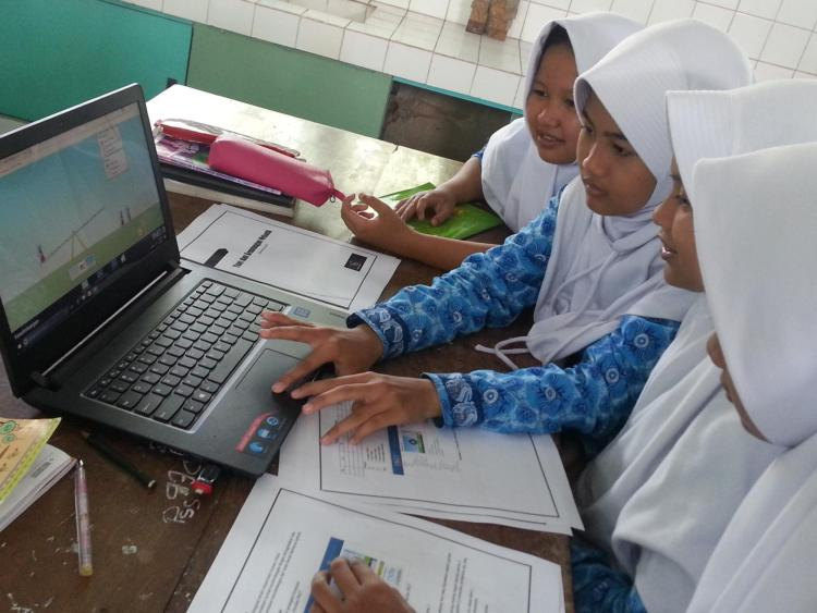 Indonesia image of students