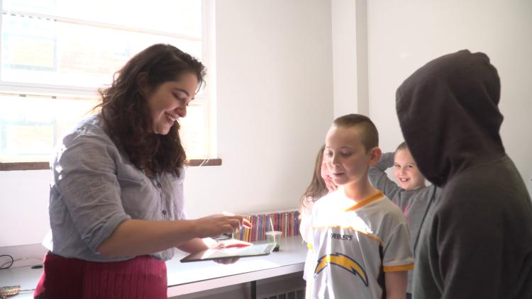 Fourth graders dig into poetry and pop music at CU Boulder