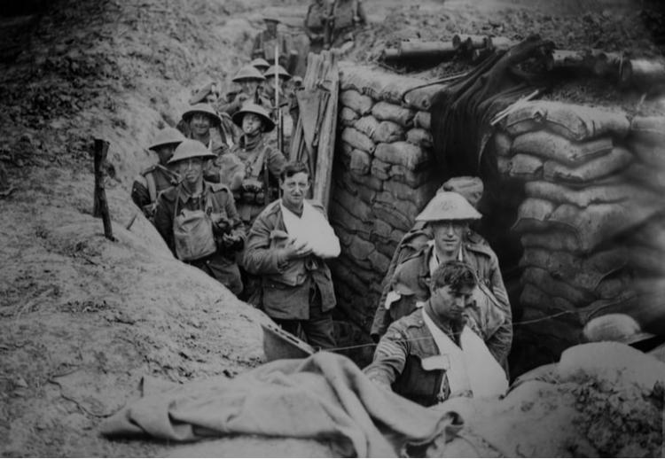 The conditions of the Great War likely made it easier for the Virus to spread