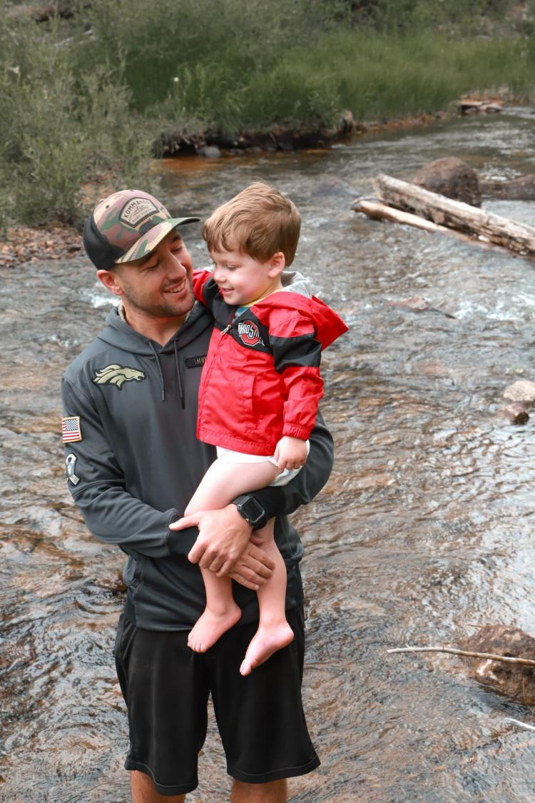 Author makes adventure come alive for son 1