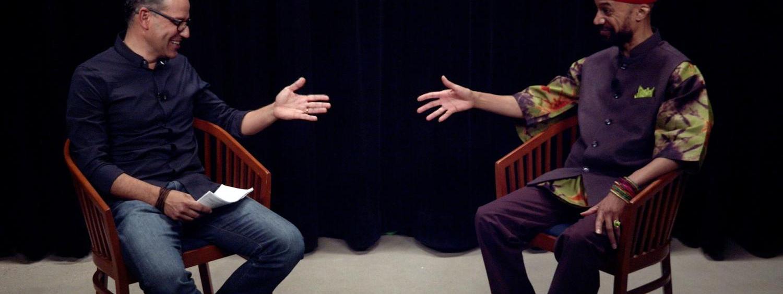 Reiland and Echchaibi in conversation