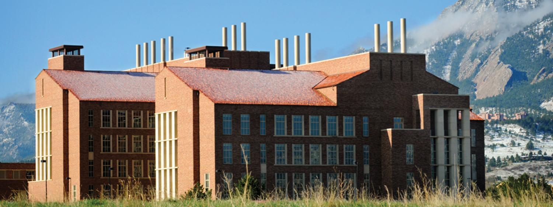 CU Boulder Biochemistry building