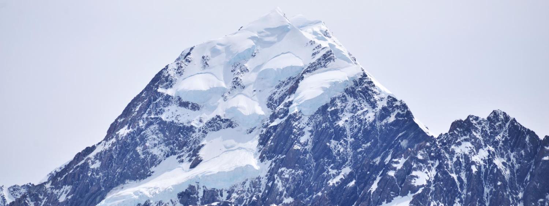 Summit of a mountain