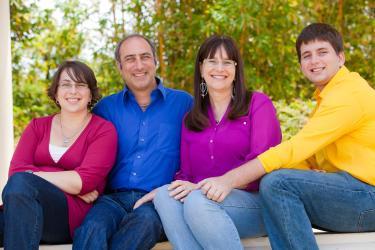 Rachel, Larry, Janet and Ben