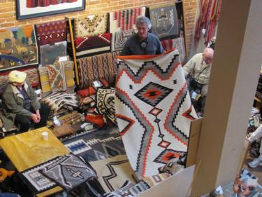 Proceeds from the rug auction each November support an endowment to preserve and protect the collection of rugs at the CU Museum of Natural History.