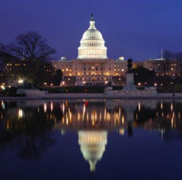 Capitol building in D.C.