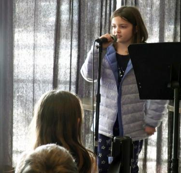 Fourth graders dig into pop music and poetry at CU Boulder