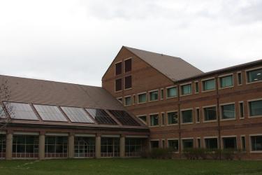 SEEC educational building, west-face.