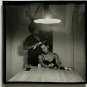 Carrie Mae Weems  The Kitchen Table Series, 1990. Gelatin silver print. Oakland Museum