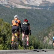 BBC riders on the road