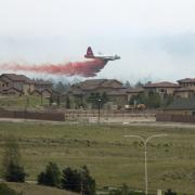 Wildfire in Colorado Springs