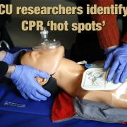CPR being practiced on a dummy