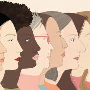 Illustration of diversity in women