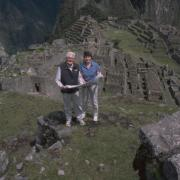 Ken and Ruth Wright are pioneers in the research of water engineering at Machu Picchu. Photo courtesy of Ruth and Ken Wright.