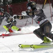 2 members of CU Ski Team